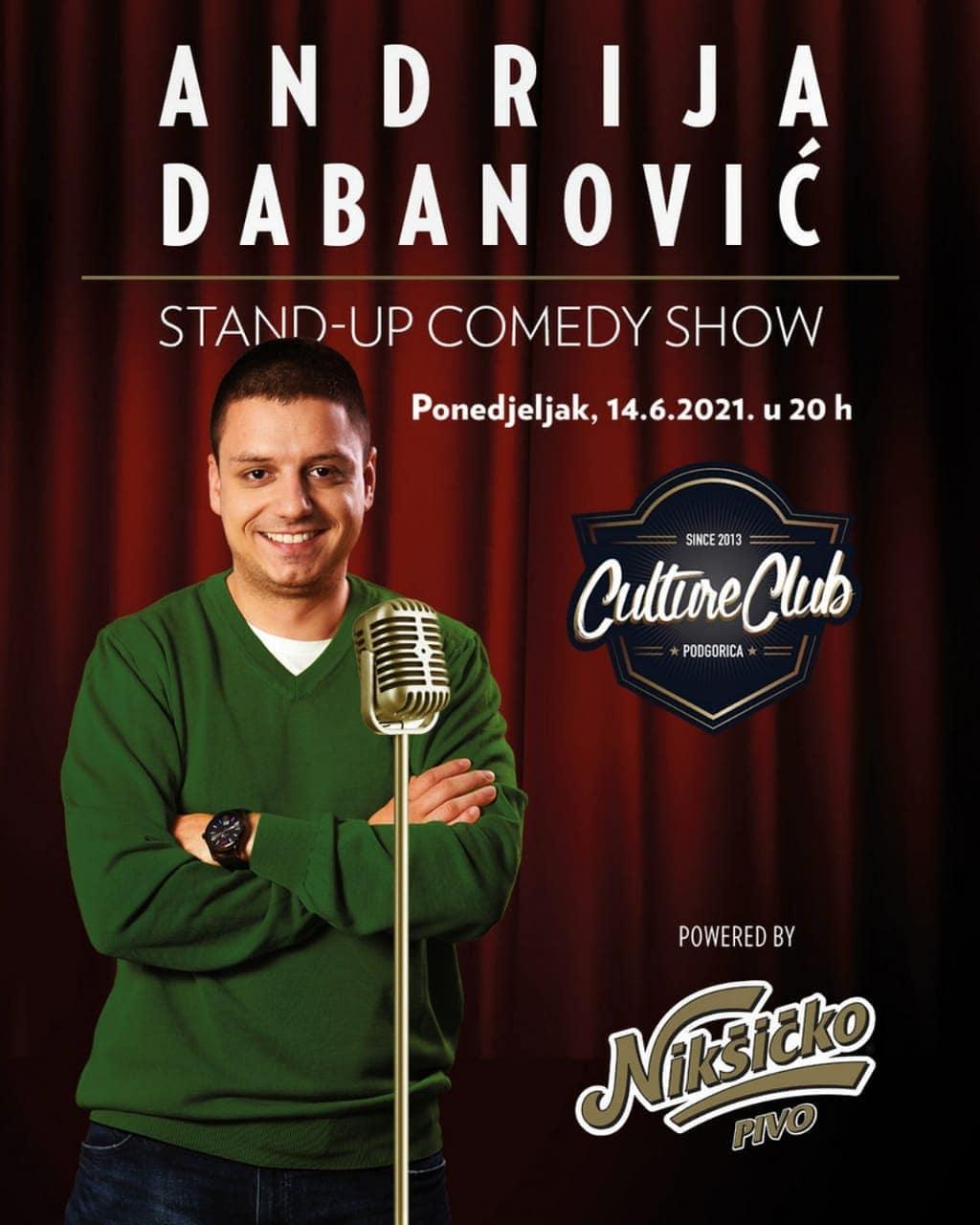 Andrija Dabanović – Stand-up comedy show