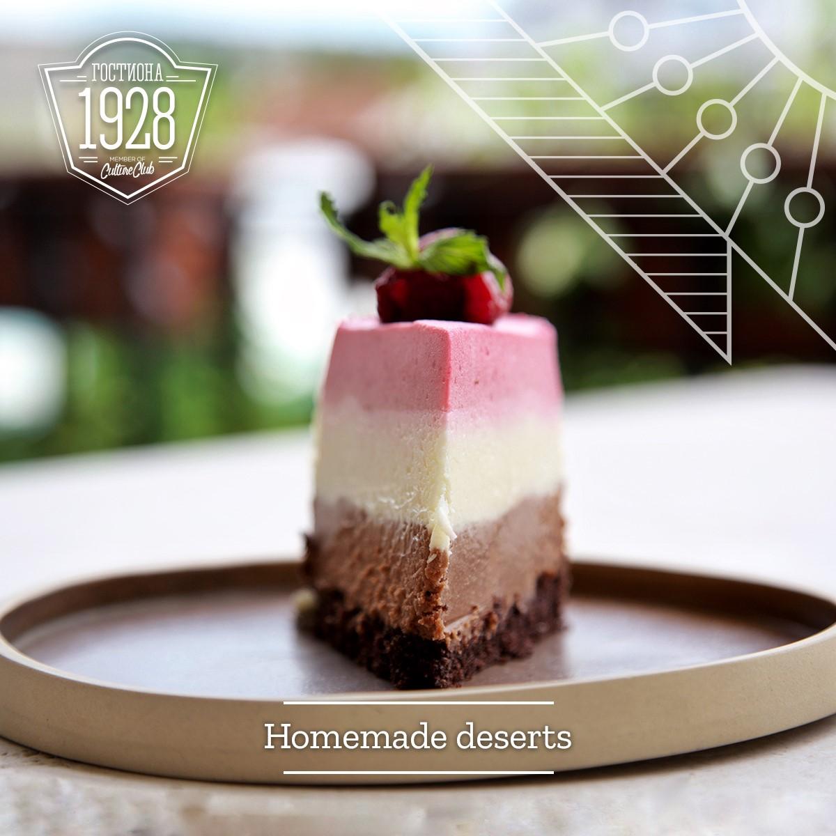 Homemade deserts